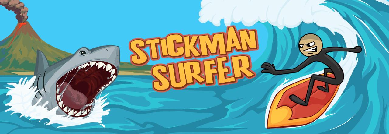 Stickman Surfer Title