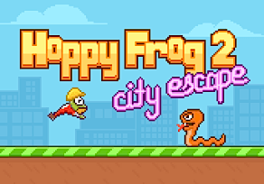 Hoppy Frog 2 – City Escape