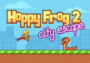 Hoppy Frog 2 – City Escape